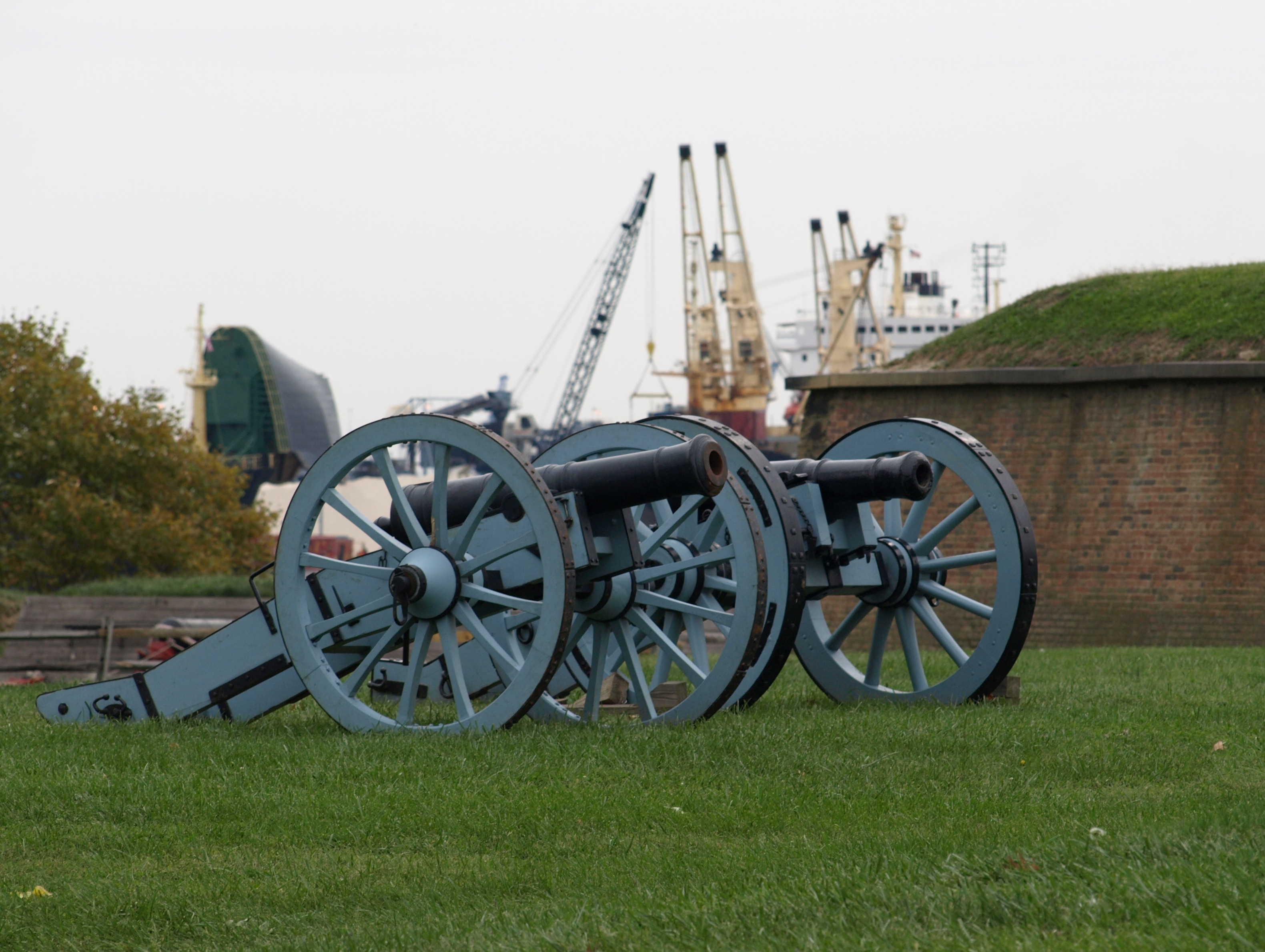 Cranes and Cannons