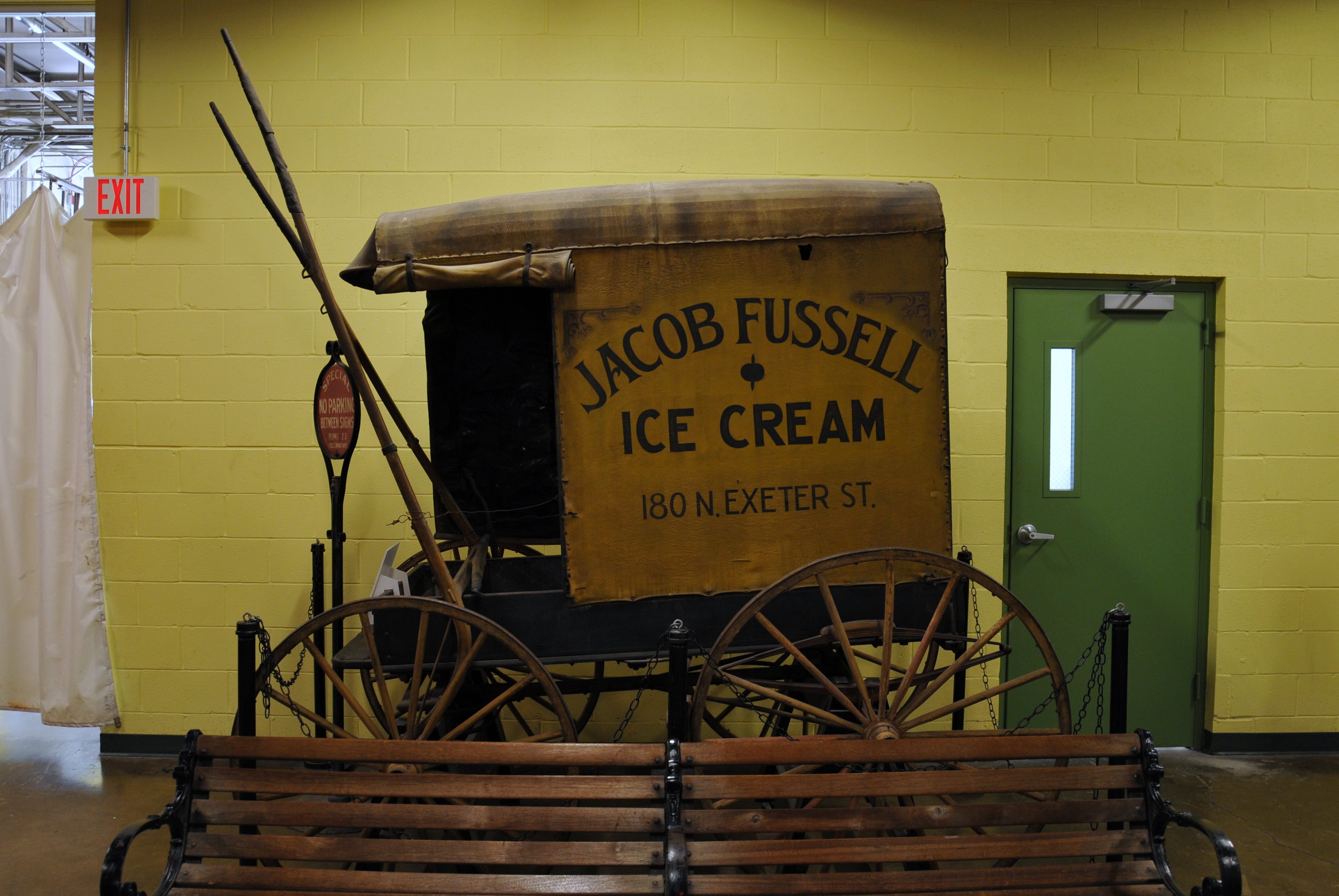 Jacob Fussell Ice Cream Cart