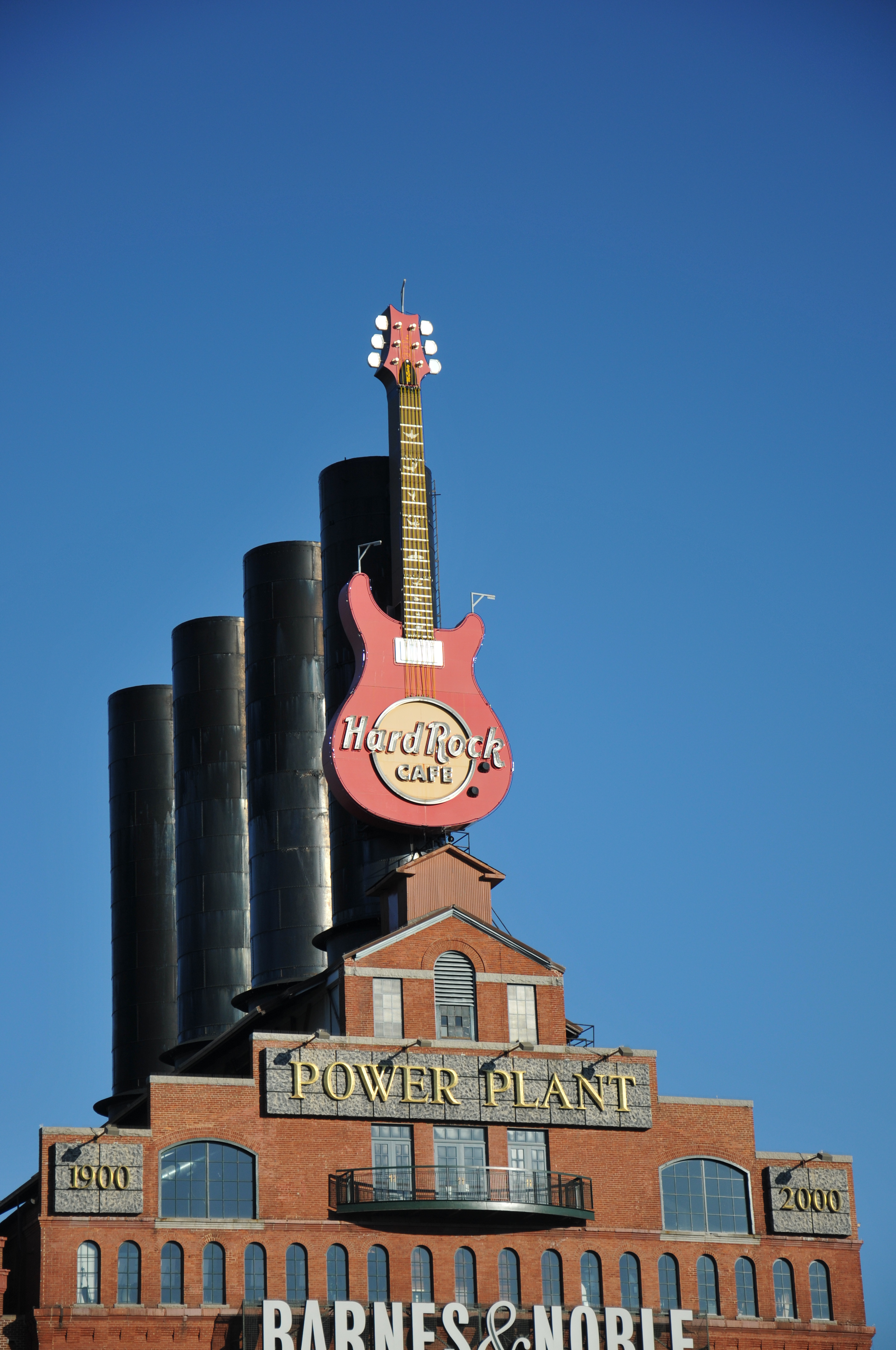 Power Plant and Hard Rock Guitar